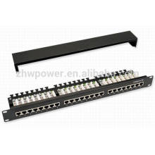 UTP 1U Cat5e 48 port patch panel ,48 port cat6 patch panel made in china with cheap price