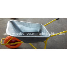 Wheel Barrow Wb5009 for Dubai Market PU Wheel