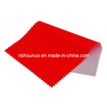 Flame Retardant Reflective Red PVC Coating Raincoat Polyester for Warning Products (HNGRF-002)