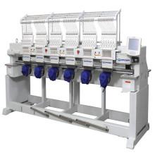 Máquina de bordar de bordar de encomenda para 6 cabeça industrial têxteis bordados preços da máquina