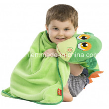 100% Polyester Infants Air Conditioning Coral Fleece Blanket