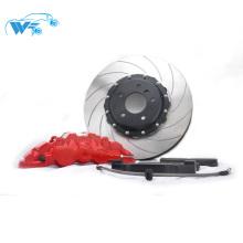 Bonne qualité rotor de frein droit 380 * 34mm avec capuchon central de couleur noire avec étrier WT8520 pour silvia S14 19 '' RIM