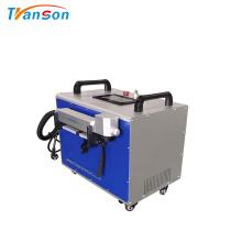 Machine de nettoyage de laser de fibre de Transon pour la rouille en métal
