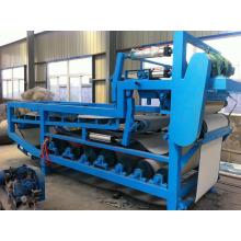 Automatischer rostfreier Pressfilter mit hydraulischem Riemenplattenrahmen