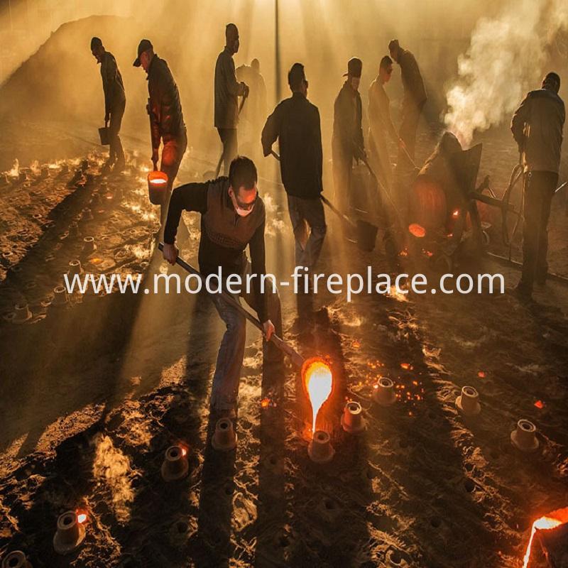 Wood Burning Furnace Production