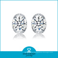 White Cubic Zirconia 925 Sterling Silver Jewelry for Women (SH-J0108)