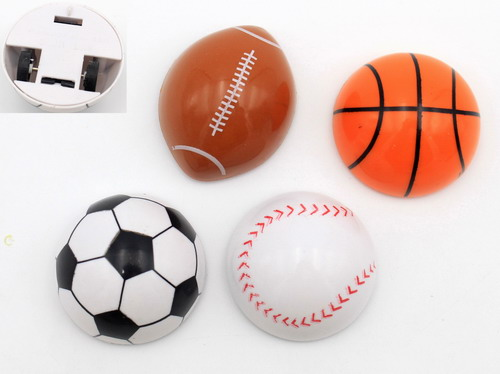 Assorted Pull Back Sport Ball Racers