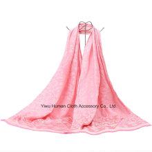 Neuer Art-Polyester-langer Schal für Dame