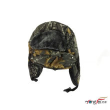 Hot Sale Outdoor Unisex Custom Russian Style Winter Ski Warm Trapper Hat With Earflap