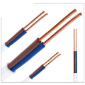 Flat Cu PVC Insulator and Sheath Electrical Wires
