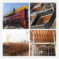 LEONKING 15mm 1500x3000mm poplar veneer core phenolic wbp glue brown film faced shuttering panel for concrete formwork