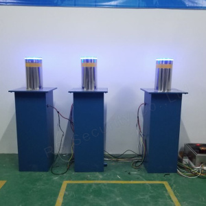 Full Automatic Rising Bollard Hydraulic Road Bollards