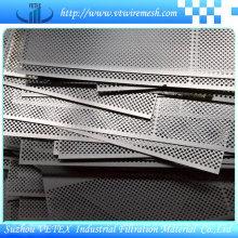 Redução de ruído em aço inoxidável perfurado malha de arame