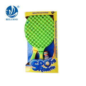 2017 New product Racket Set Toy Plastic kids outdoor toys for wholesale