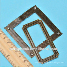 retro and fashiion cheap metal photo frame