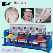 Elucky 15 colors high speed multi heads embroidery machine for all kinds of embroidery