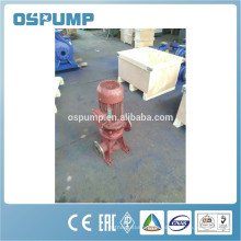 Sewage water vertical solar submersible pump