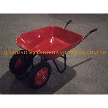 carretilla de dos ruedas neumáticas