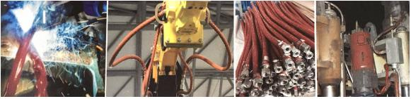 Wire fireproof Heat Resistant Fiberglass Sleeve