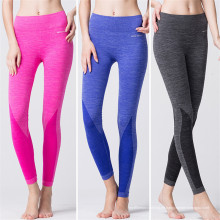 (OEM-Fabrik) Trockene passende kundenspezifische Yoga-Hosen-Frauen Großhandelsfrauen-Gamaschen-Strumpfhosen