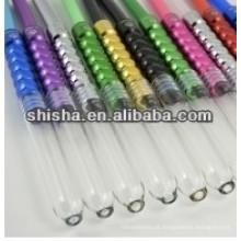 mangueira de silicone dicas shisha alumínio dicas do cachimbo de água Mangueira dicas copo de vidro