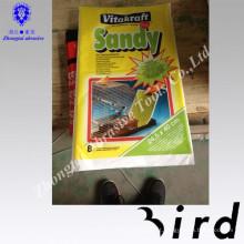 papel de cascalho natural puro para pássaros