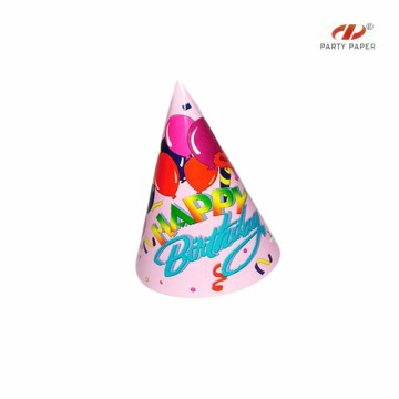 Birthday Party Cheap Paper Hats With Custom Printed