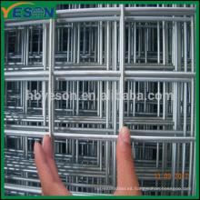 Reforzamiento de malla de alambre de acero soldado / paneles, malla de seguridad de acero inoxidable, alambre de refuerzo de bloque de hormigón