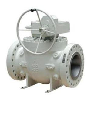 Flange end Top Entry Ball Valve