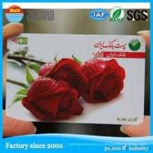 Cartão vazio do CI do contato do Inkjet Ink4428 do PVC