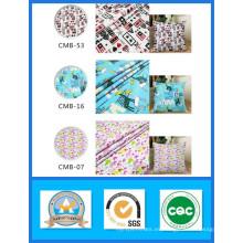 Venta barata de la acción 100% tela impresa algodón de la lona Peso 200GSM ancho 150cm