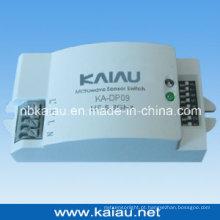 Interruptor de sensor de movimento de microondas de 5,8 GHz (KA-DP09)