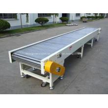 Transportador de cadena de plástico superior de listones personalizado para la venta