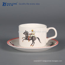 180ml Unique Design Fine Porcelain Bulk Tea Cup And Saucer Sets