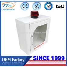 Hsinda-Cabinet TY-E-001 Gabinete de desfibrilador para uso interno para AED