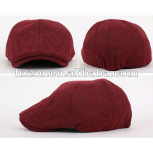 womens unicolor custom berets cap