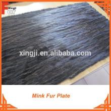 Scrap Mink Fur Plate