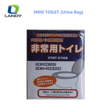 HOT NEW DESIGN MINI TOILET PLASTIC URINE BAG