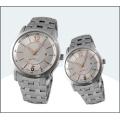 High-Grade Stainless Steel Couple Watches, Quartz Watch 15183