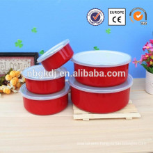 small size friendly material wholesale enamel bowl