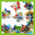 beautiful star shape glass millefiori beads