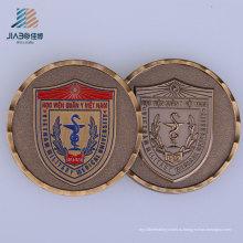 Китай завод Выдвиженческого подарка изготовленный на заказ полиции вызов монета для сувенир