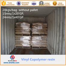 Copolymère du chlroide de vinyle et de l'éther isobutylique MP45 CAS 25154-85-2 de vinyle pour le classeur d'encre d'impression de gravure