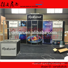 custom cheapest modular exhibition stand for display exhibition system for USA show in May, 2016