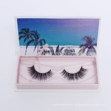 3d synthetic silk wholesale false eyelashes Korean faux mink lashes private label for women