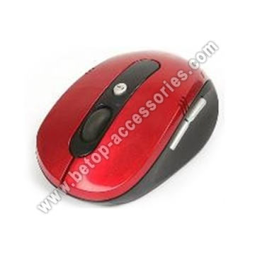 Rot 2,4 G-Wireless-Maus