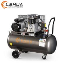 Compresor de aire del pistón de 150 litros 3hp Italia con la bomba de aire de aluminio