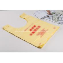 Camiseta de plástico HDPE con estampado