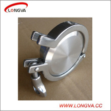 Sanitary Stainless Steel Blind Ferrule with Clamp