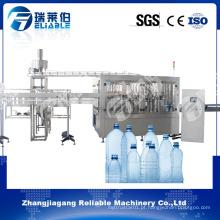 Máquina de enchimento automática personalizada da água de garrafa / água alcalina que faz a máquina
